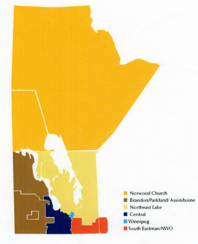 Consolidation Proposal Map